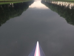 Papland paddle board spot in Netherlands