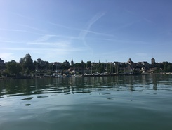 La Bise Noire paddle board spot in Switzerland