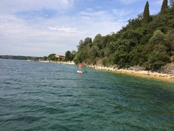 Dusano, Manerba  paddle board spot in Italy