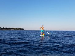 savudrija do kempinski sitio de stand up paddle / paddle surf en Croacia