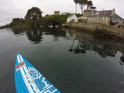 saint pabu paddle board spot in France