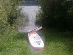 Niedersonthofener See sitio de stand up paddle / paddle surf en Alemania