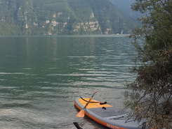 Lago d'Idro sitio de stand up paddle / paddle surf en Italia