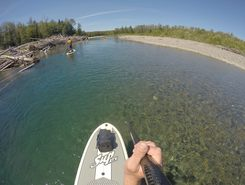 petite cascapedia spot de stand up paddle en Canada