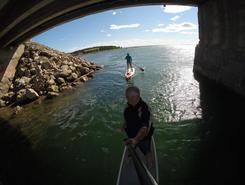 parc de la pointe taylor paddle board spot in Canada