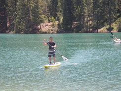 Tibble Fork Reservoir paddle board spot in United States