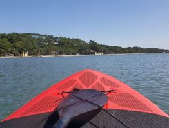 Lac d'hossegor spot de stand up paddle en France