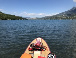 Chevroux sitio de stand up paddle / paddle surf en Suiza