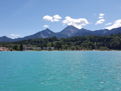 Neuegg am Faaker see paddle board spot in Austria