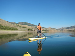 east canyon reservoir paddle board spot in United States