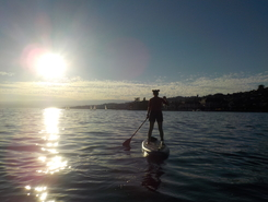 Lutry - La Digue des plongeurs sitio de stand up paddle / paddle surf en Suiza