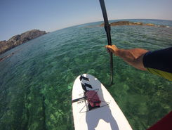 Capo Falcone sitio de stand up paddle / paddle surf en Italia