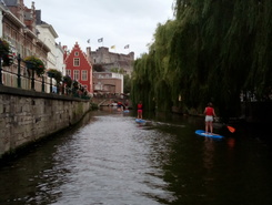Grand Huit Gand spot de stand up paddle en Belgique
