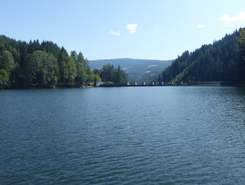 Hirzmannstausee paddle board spot in Austria