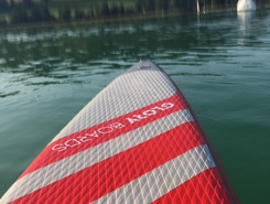 mattsee paddle board spot in Austria