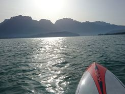 Lac d'Annecy spot de stand up paddle en France