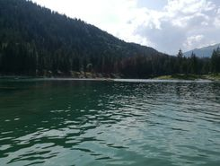 Caumasee sitio de stand up paddle / paddle surf en Suiza