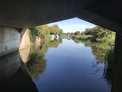 River Nene, east Northants  paddle board spot in United Kingdom