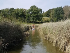 Cuckmere Valley paddle board spot in United Kingdom