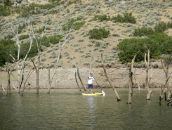 jordanelle reservoir paddle board spot in United States