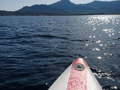 algajola spot de stand up paddle en France