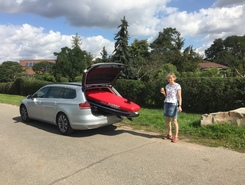 Wallendorfer See paddle board spot in Germany
