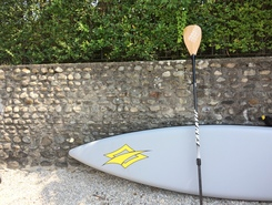 Caldé spot de stand up paddle en Italie