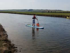 Seven sisters country park sitio de stand up paddle / paddle surf en Reino Unido