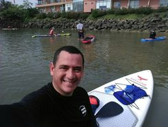 la playita pool bar spot de stand up paddle en Panama