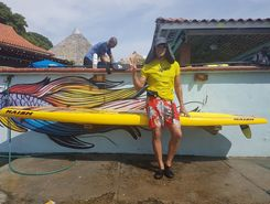 Caustway spot de stand up paddle en Panama