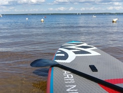 lacanau lac paddle board spot in France