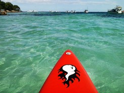 palm beach paddle board spot in France