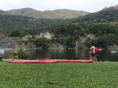 Lac de Genos Loudenvielle paddle board spot in France
