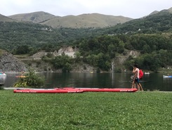 Lac de Genos Loudenvielle spot de stand up paddle en France