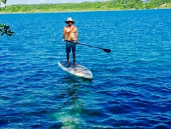 Xul ha -South Bacalar spot de stand up paddle en Mexique
