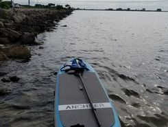 Courtney Cambell Causeway  spot de stand up paddle en États-Unis