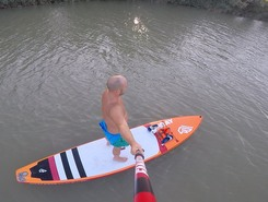 Csepel sziget Budapest paddle board spot in Hungary