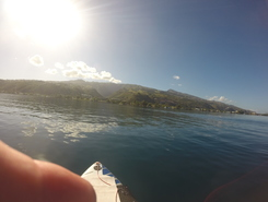 passe de punaauia paddle board spot in French Polynesia