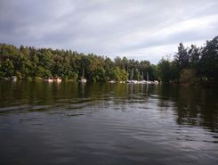 Ždáň, Slapy paddle board spot in Czech Republic