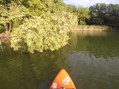 Deseda Lake paddle board spot in Hungary