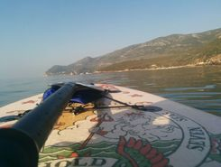 portinho da arrabida spot de stand up paddle en Portugal