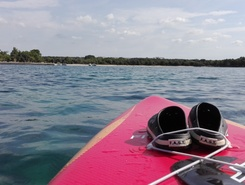 Mon Perin sitio de stand up paddle / paddle surf en Suiza