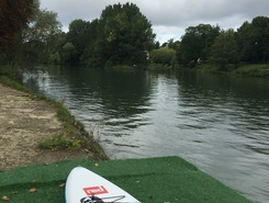 Winston3 paddle board spot in France