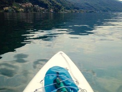 Agno spot de stand up paddle en Suisse