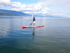 Lac de Neuchâtel - Yvonand paddle board spot in Switzerland