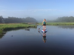 Vuntus route  spot de stand up paddle en Pays-Bas