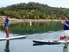 Lac de Saint Cassien  spot de stand up paddle en France