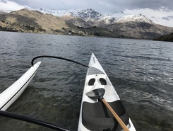 Lake Hayes  paddle board spot in New Zealand