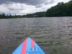 Jevany paddle board spot in Czech Republic
