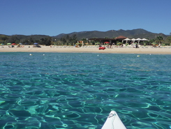 Cala Sinzias spot de stand up paddle en Italie